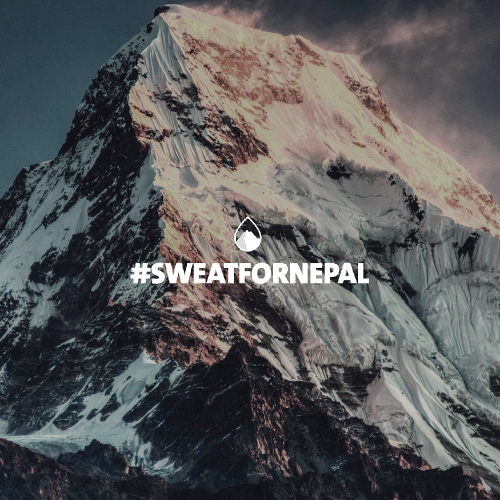 Sweat For Nepal logo