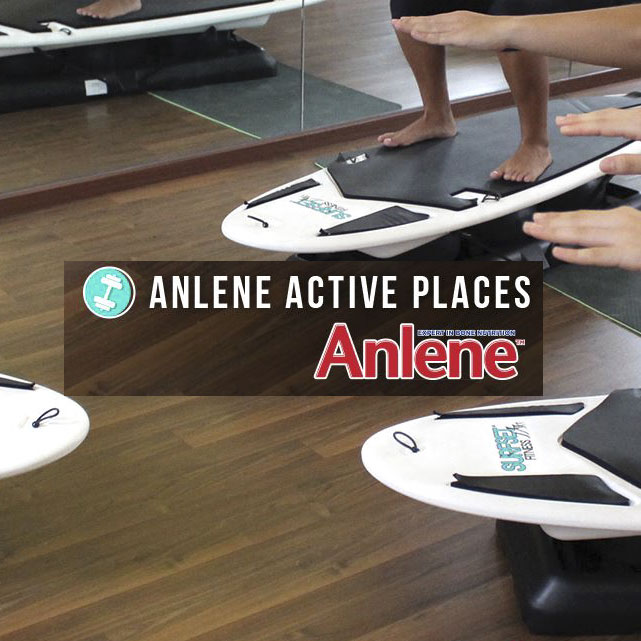 Anlene's Active Places - Surfset in Yoga Class