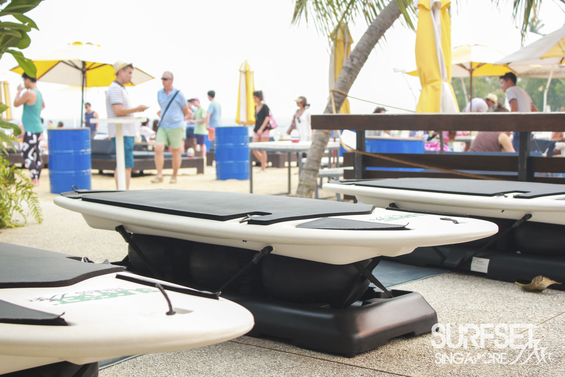 Soulscape 2015 - Surfset Fitness boards at Sentosa