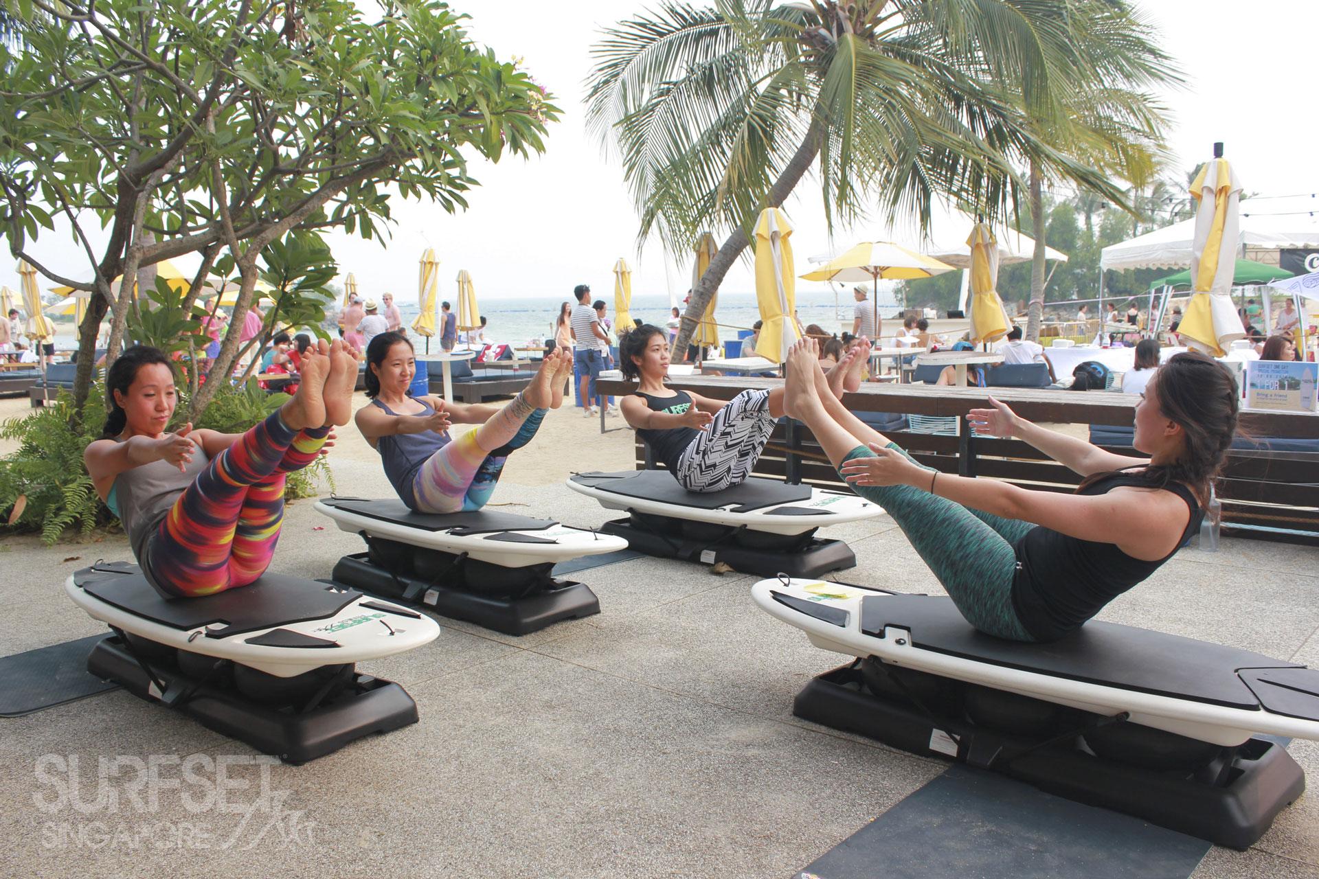 Soulscape 2015 Surfset Yoga Class