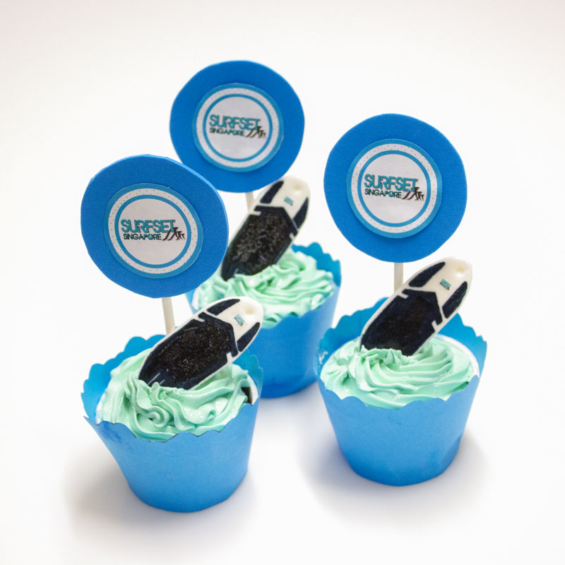 Surfset Cupcakes by Ximicake, baked by Priscilia