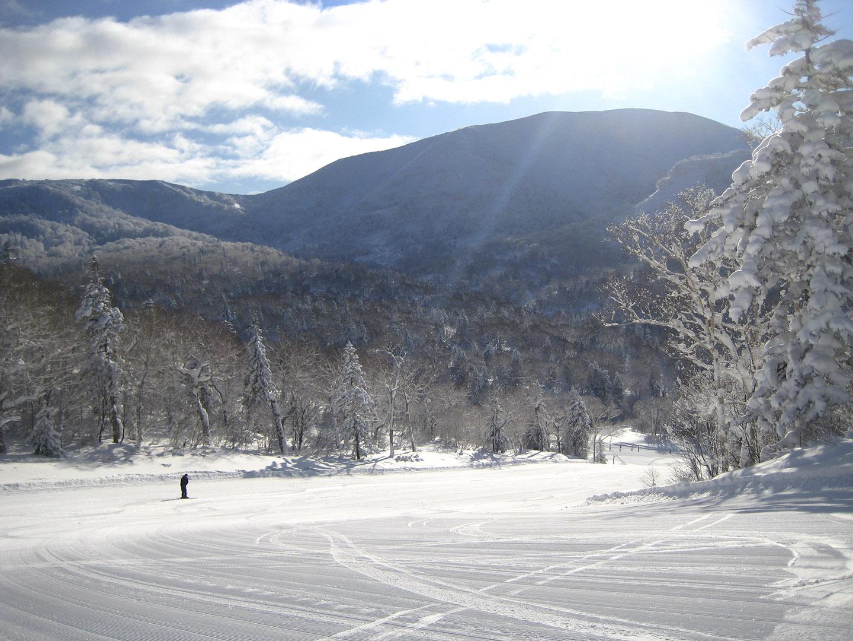 Kiroro snowboarding
