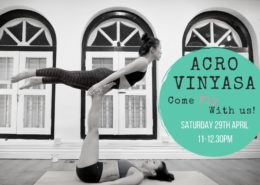 Acroyoga Acrovinyasa Workshop