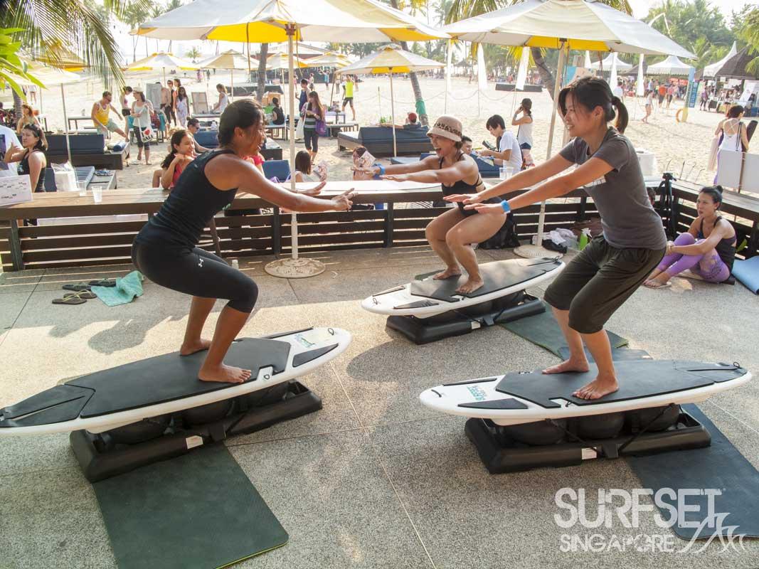 Surfset Soulscape 2014 yoga class