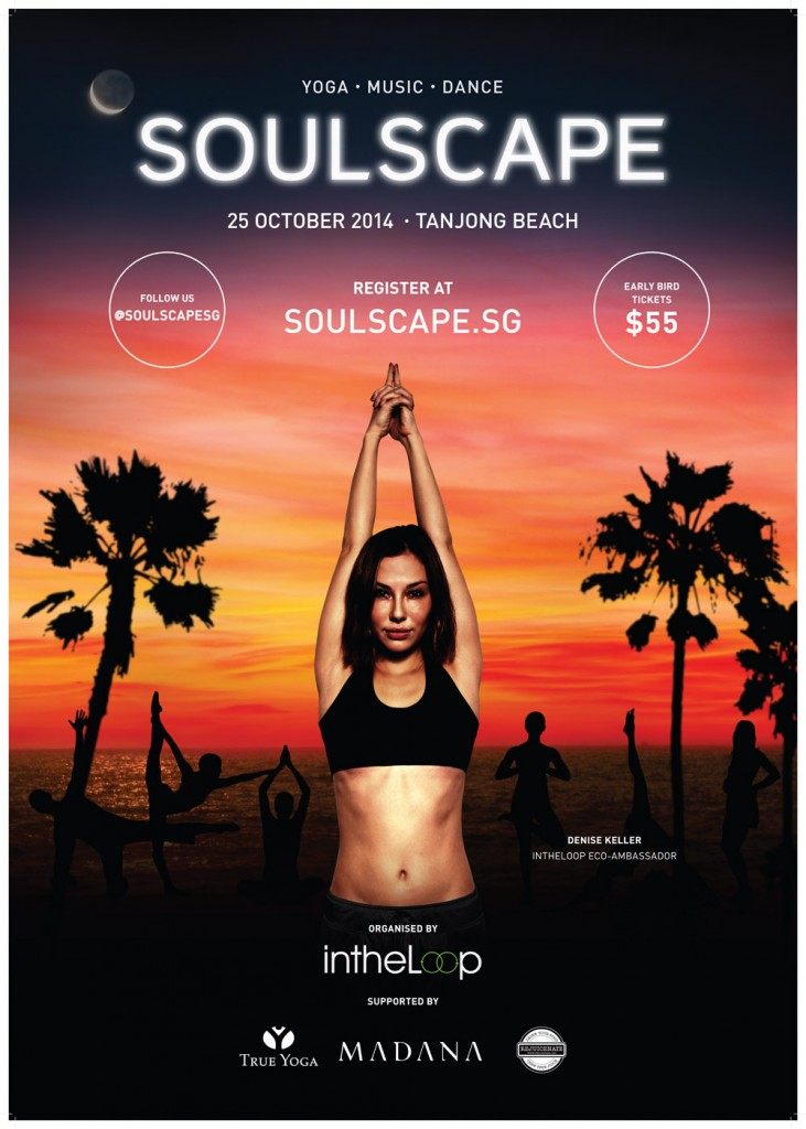 Soulscape 2014 Yoga Music Dance Tanjong beach - supported by: Intheloop True Yoga Madana