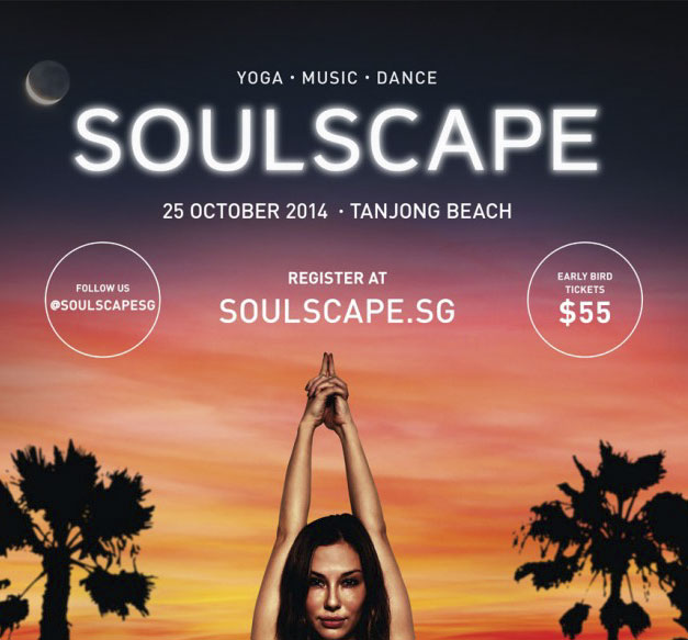 Soulscape 2014 Yoga Music Dance Tanjong beach