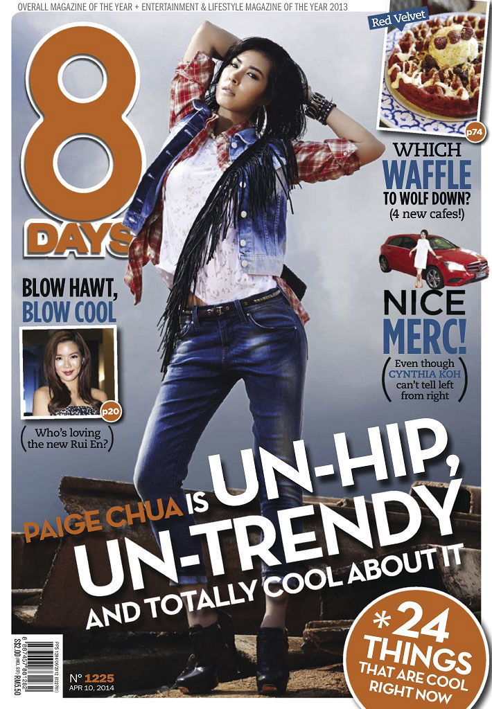 8 Days Magazine Cover