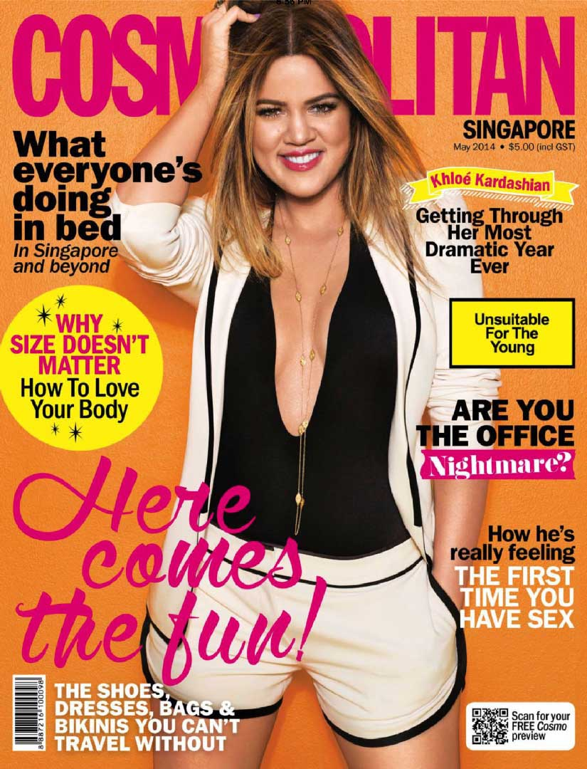 Cosmopolitan Cover Here comes the fun