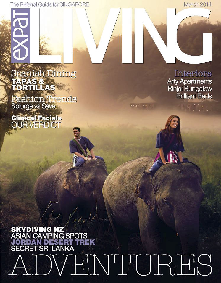 Expat living cover referral guide for Singapore adventures