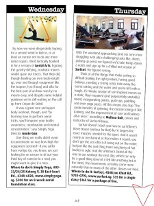 I-S Magazine Mention workout movements