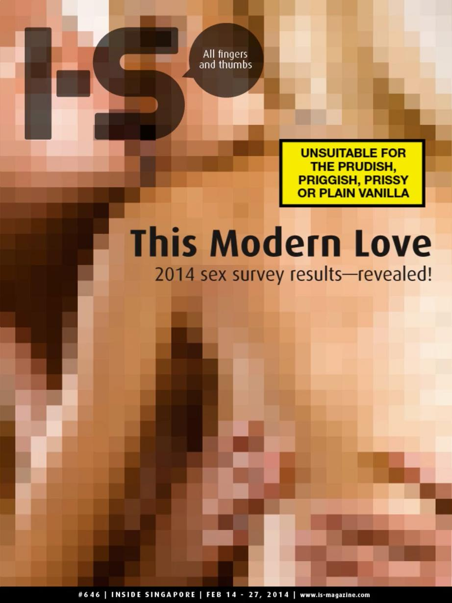 I-S February cover this modern love Singapore