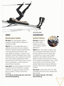 I-S Magazine Article Indoor Surfing total body toning workout