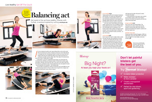 Shape article balancing act workout yoga pilates
