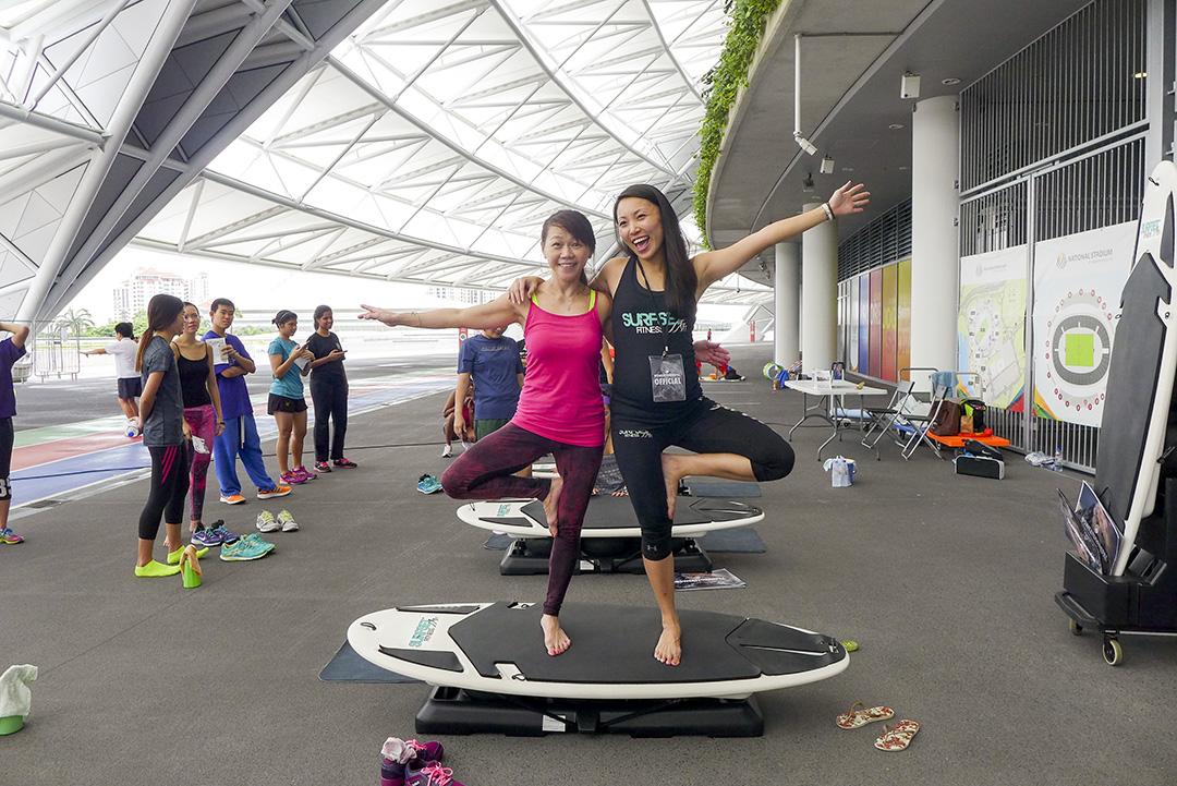 SweatForNepal Surfset Participant 3