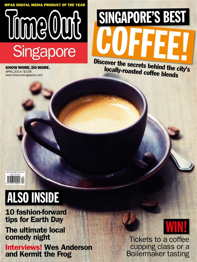 Time Out Singapore Cover