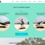 New Surfset Website core strength and balance, burn fat and improve cardiovascular health, build and tone lean muscle