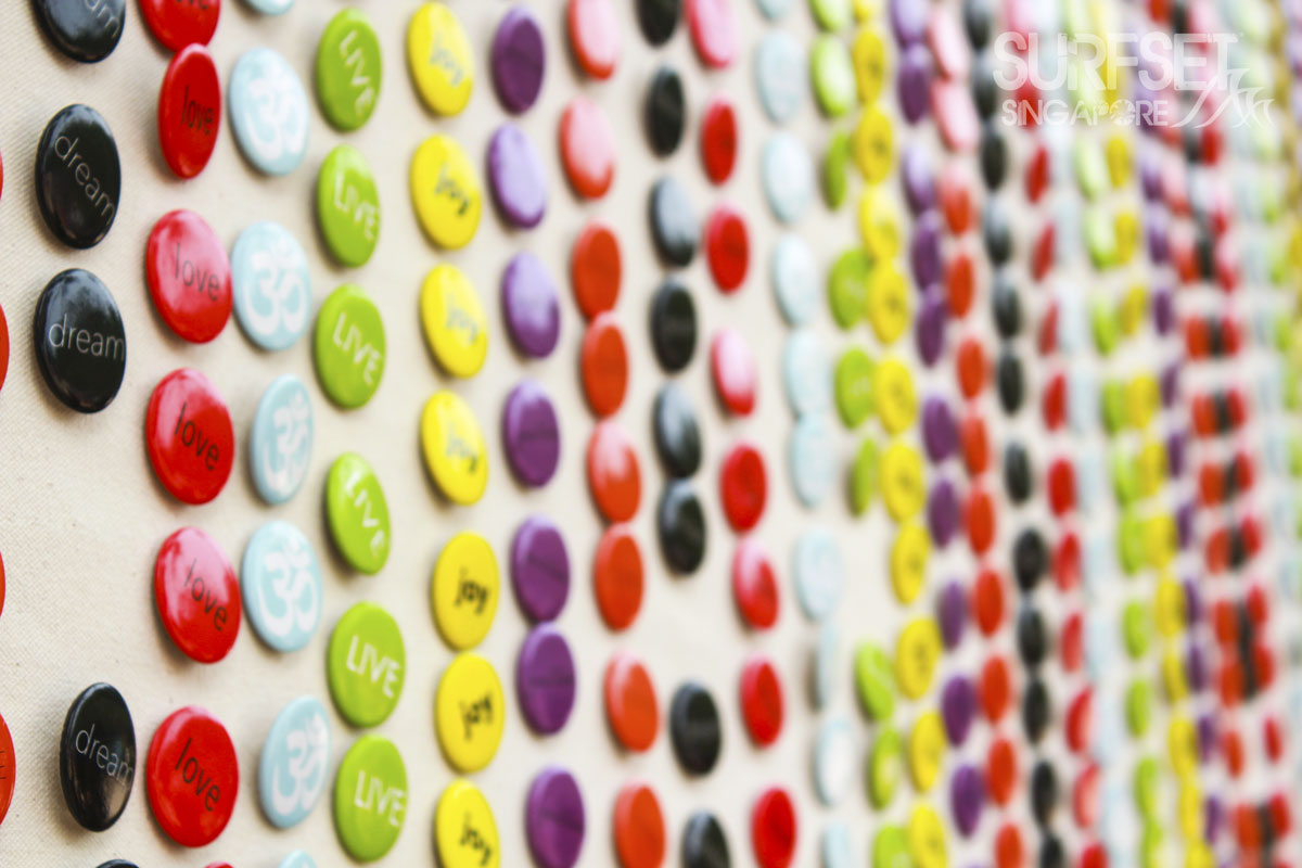 Soulscape Yoga Festival - Dream Love Live Joy badges