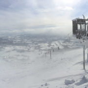 Snowboarding in Asia - Niseko Peak View