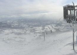 Snowboarding in Asia - Niseko Peak View