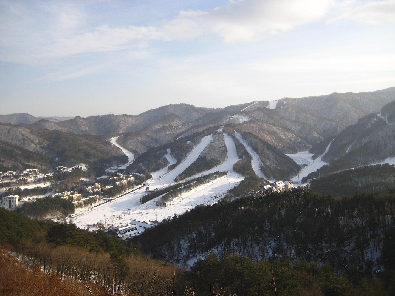Yong Pyong Ski resort