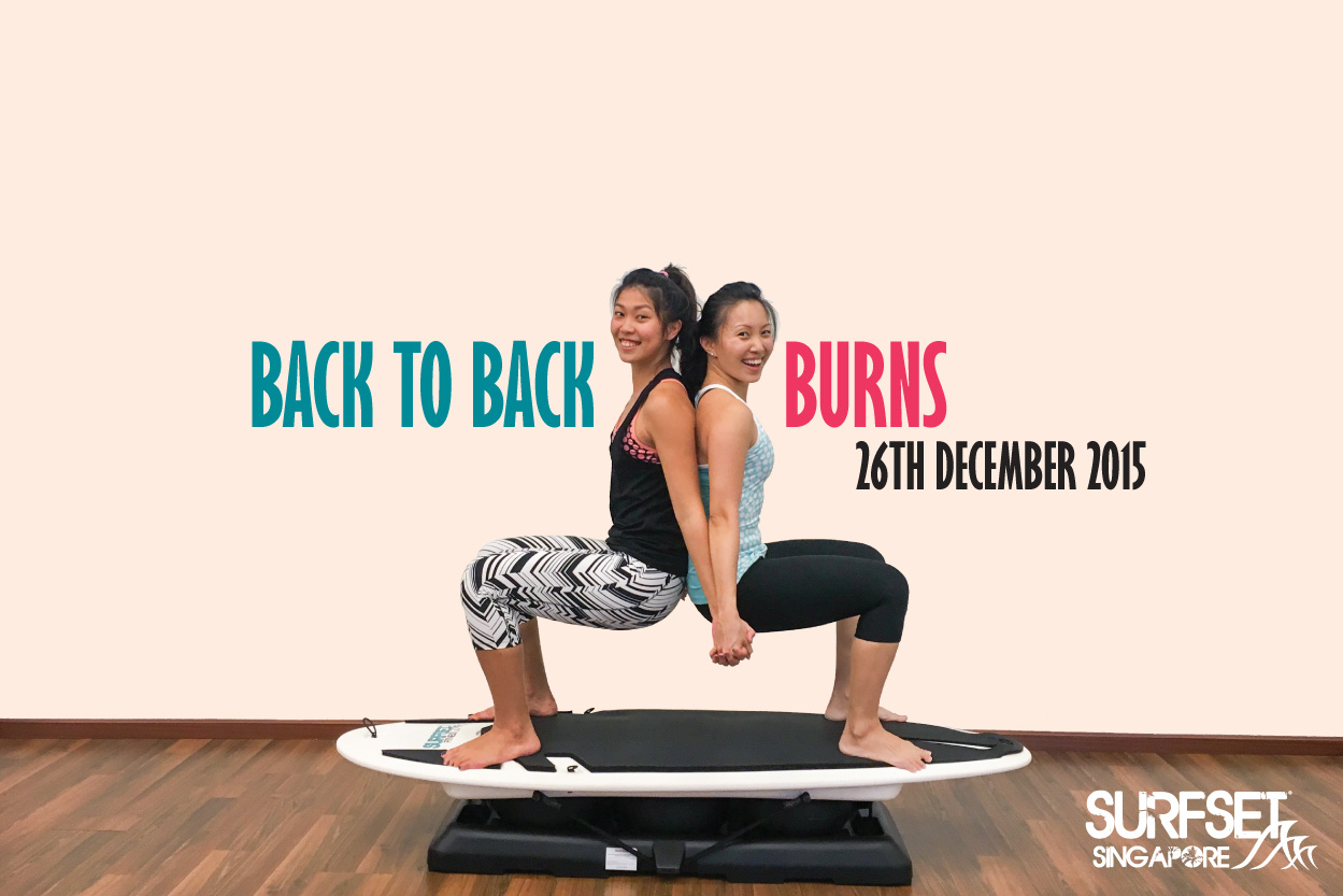Back to Back Burns Surfset Fitness