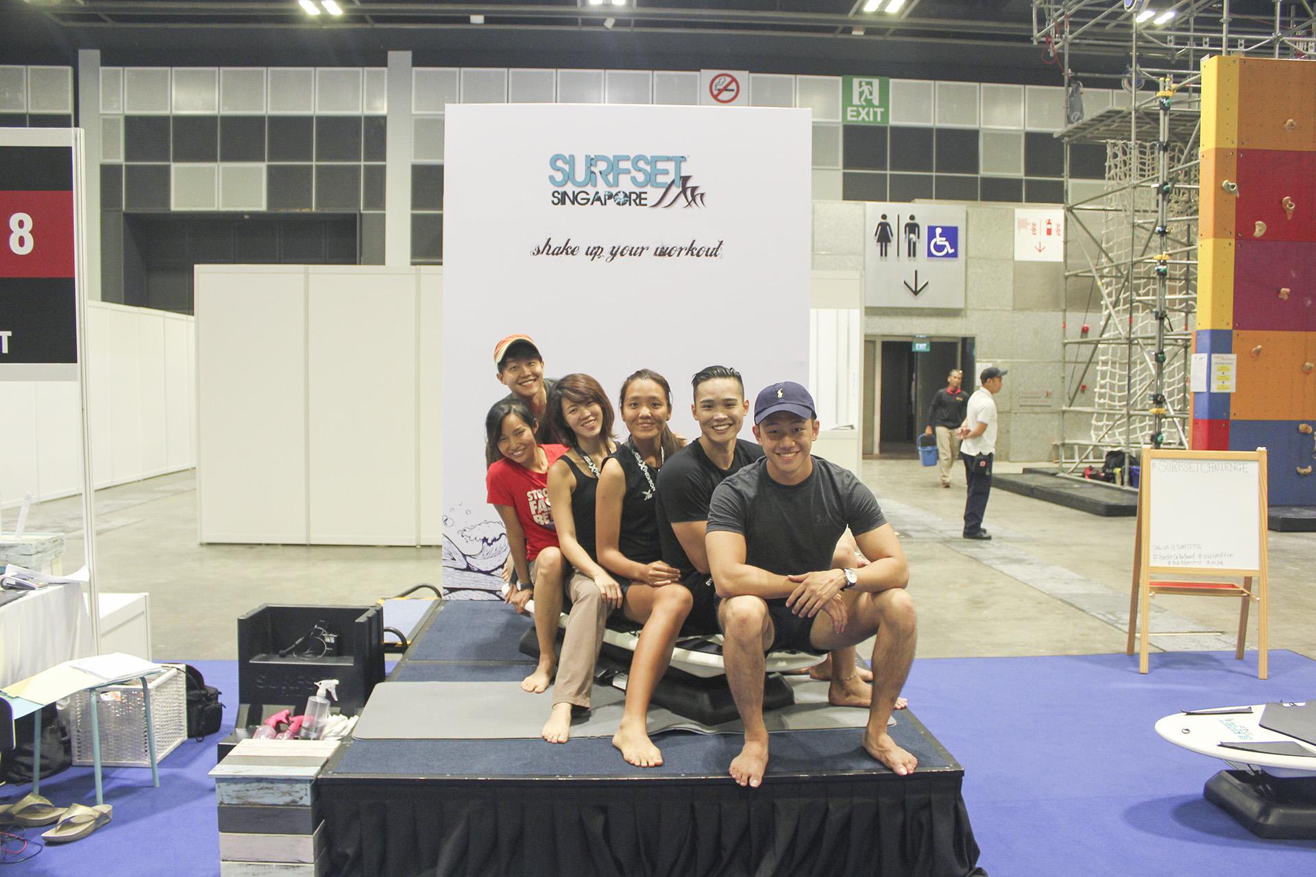 Surfset Fitness Suntec