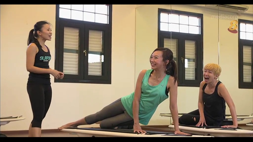 Channel 8 SURFSET Fitness