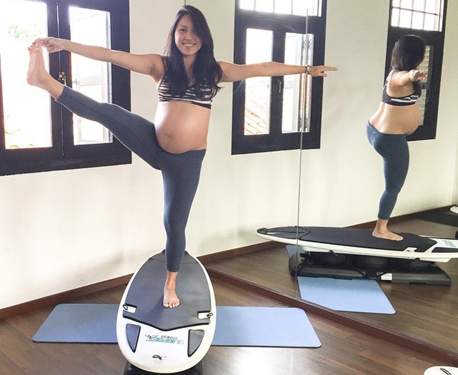 SURFSET shuyi pregnant