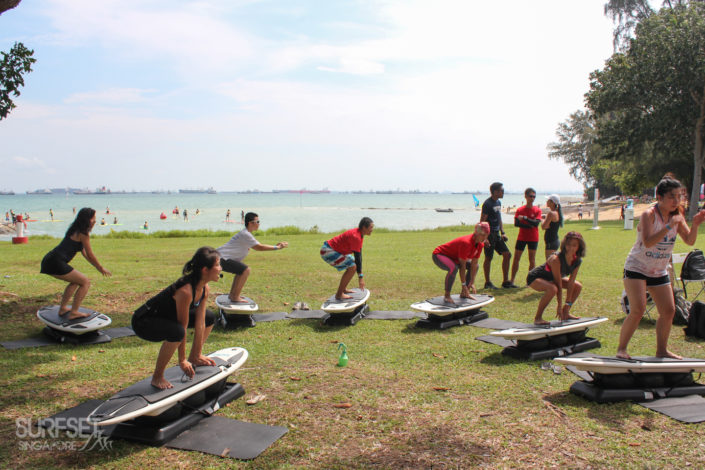 Fitness classes in Singapore