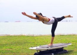 SURFSET Fitness Yoga Challenge Poses September 2016