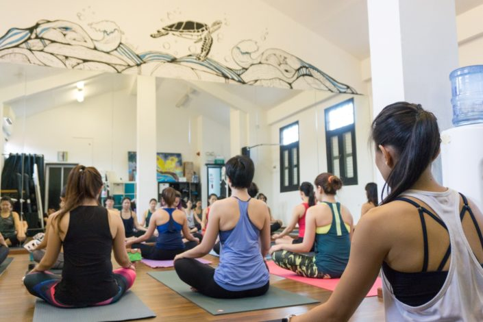 Acrovinyasa workshop